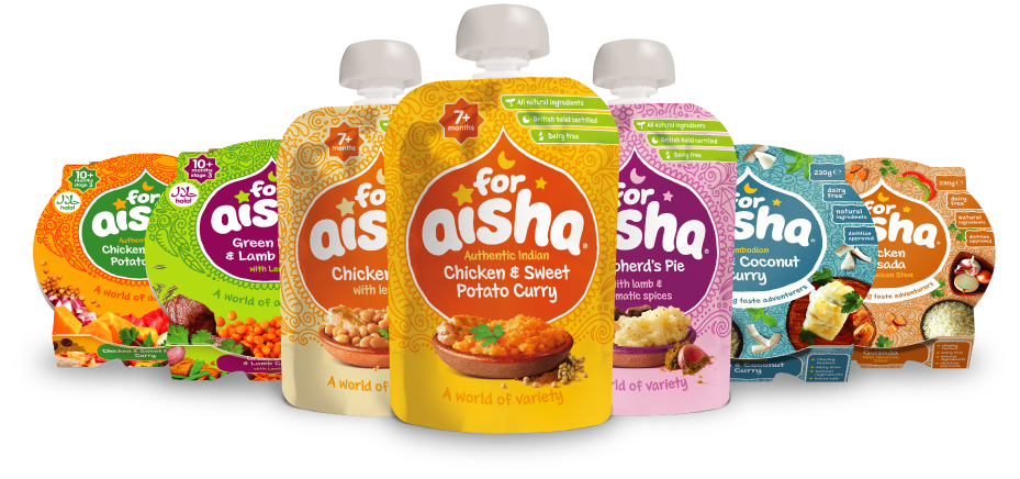 For Aisha Delicious Halal Baby Food